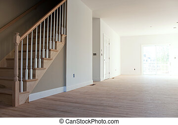 New Home Interior Stairs