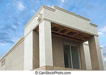 New home under construction  in development