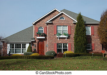 New House Brick 2 - Newer two story brick home with nicely...