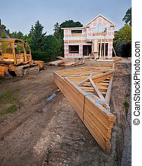 New House Construction - SUBURBAN DETROIT HOUSING...