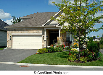New House - North American New Style Executive Bungalow Home...