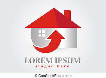 New House real estate logo