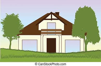 new house-vector illustration