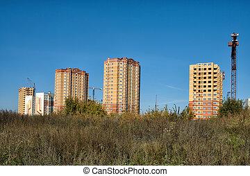 New houses in Lipetsk.