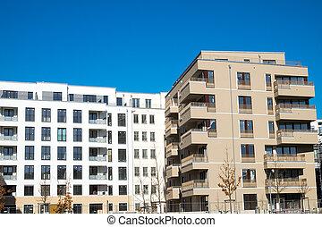 New housing complex in Berlin