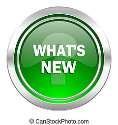 new icon, green button