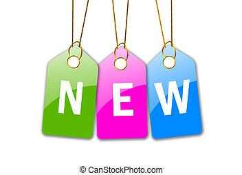 New icon - New shopping icon
