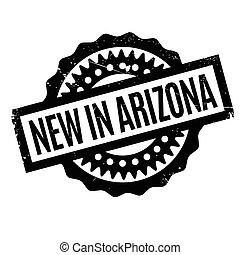 New In Arizona rubber stamp