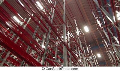 New Industrial Modern Warehouse Indoor