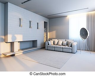 new interior design in the style