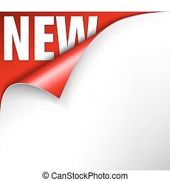 New item in the eshop announcement - Paper with curl and new...