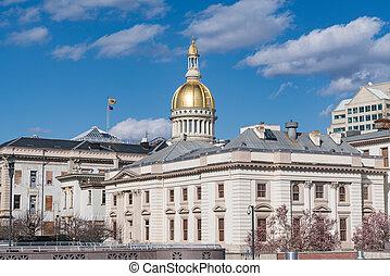 New Jersey Capitol Building in Trenton