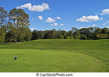 New Jersey Golf - A scenic look at Charleston Springs Golf...