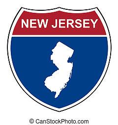New Jersey interstate highway shield - New Jersey interstate...