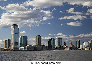 New Jersey and river Hudson