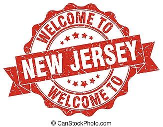 New Jersey round ribbon seal