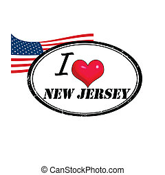 New Jersey stamp