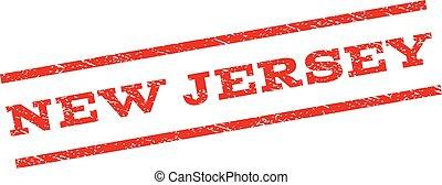 New Jersey Watermark Stamp