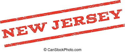 New Jersey Watermark Stamp