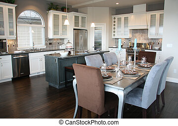 New kitchen - Beautiful new luxury kitchen.