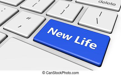 New Life Button Concept