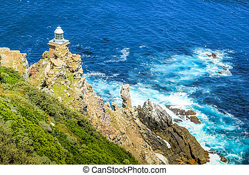 New lighthouse of Cape Point