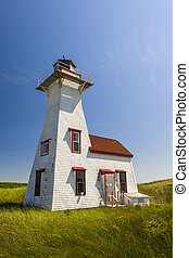 New London Range Rear Lighthouse, PEI - New London Range...