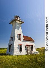 New London Range Rear Lighthouse, PEI - New London Range...