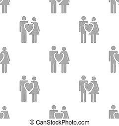 New Love seamless pattern