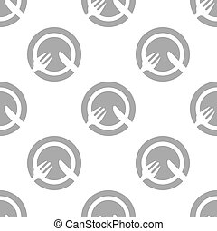 New Lunch seamless pattern