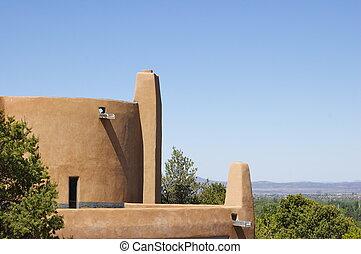 New Mexico Adobe Building