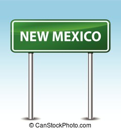 new mexico green sign