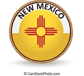 New Mexico State Seal - Seal of the American state of New ...