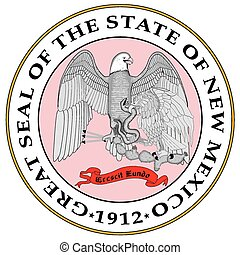 New Mexico State Seal - The great seal of the state of New ...