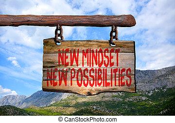 New mindset new possibilities
