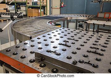 assembly roller line - new modern assembly roller line