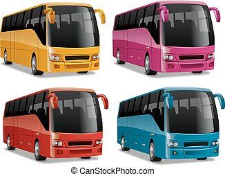 modern comfortable city buses - new modern comfortable city...