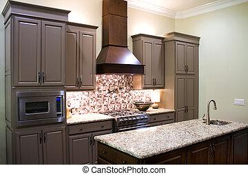 New Modern Kitchen - New modern luxury kitchen cabinets,...