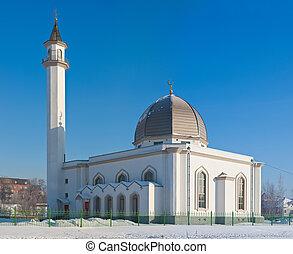 mosque in Sankt-Peterburg - New mosque in Sankt-Peterburg, a...