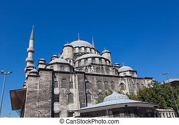New Mosque in the centre of Istanbul turkey