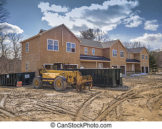 New multi family house or condo construction