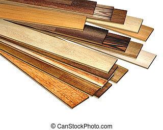 Parquet o laminate wooden planks of the different colors on... stock ...