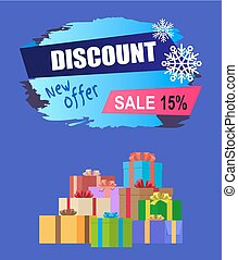 New Offer Discount - 15 Winter 2017 Sale Vector