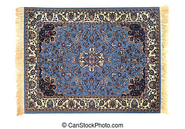 New Orient Carpet - Traditional orient cover isolated over...