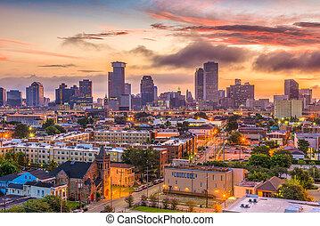 New Orleans Louisana Skyline