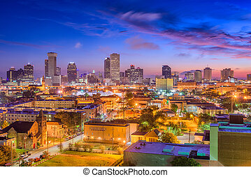 New Orleans, Louisiana Skyline
