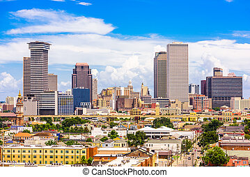 New Orleans, Louisiana, USA Skyline