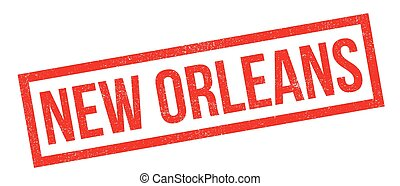 New Orleans rubber stamp