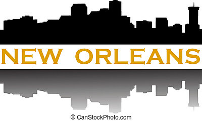 City of New Orleans high rise skyline