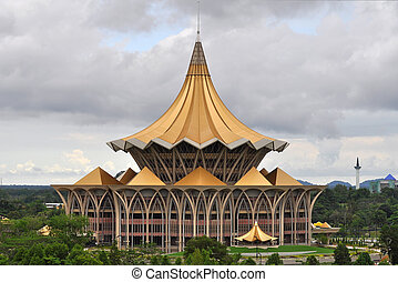 New Parliament Building in Kuching - New parliament building...